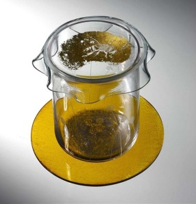 Honey Jar by Jo Newman Glass Artist